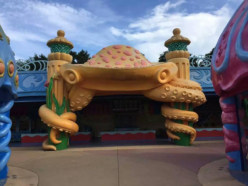 陜西兒童樂園制作公司|有口碑的甘肅藝術景觀工程就在振維