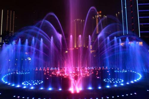 吉林音乐喷泉|吉林彩色喷泉