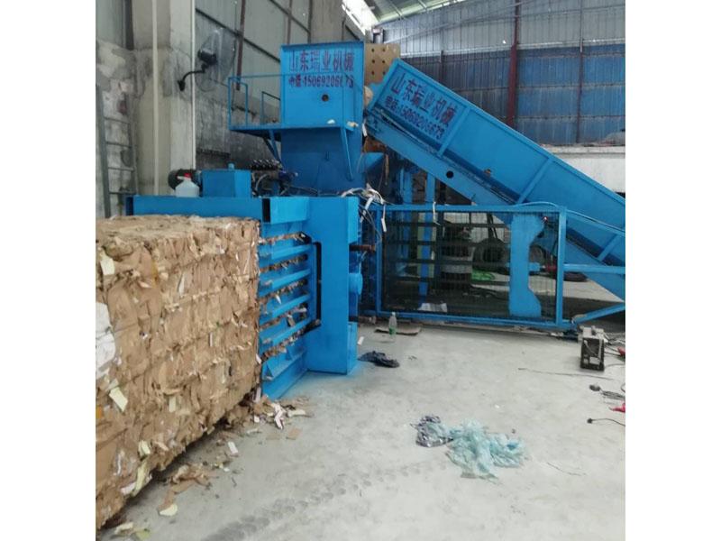 专业的全自动液压废纸打包机公司推荐瑞业机械