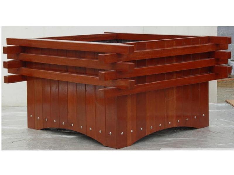 阿勒泰塑木花箱價格-供不應求的新疆塑木花箱花架推薦