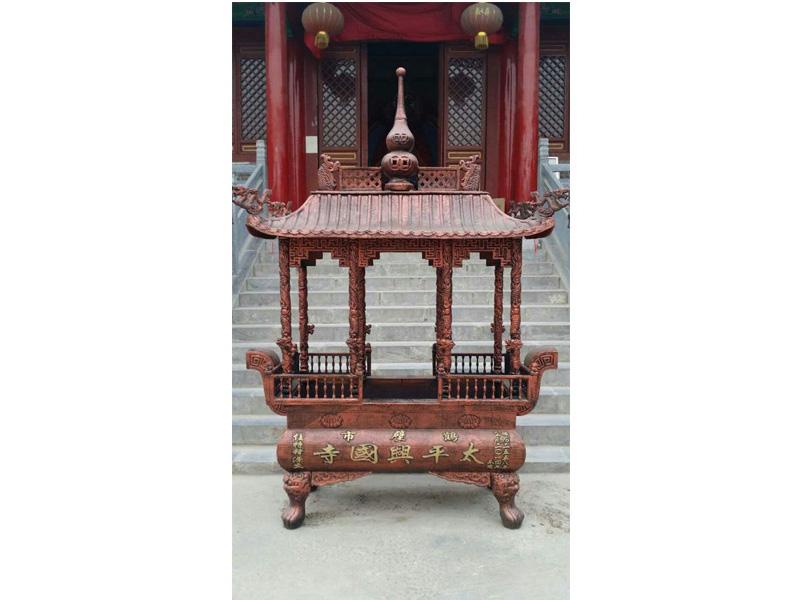 大慶寺廟香爐_品質長方銅香爐現貨供應