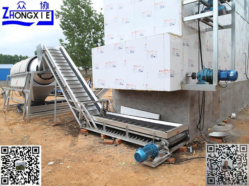 雲南有機肥生產設備價格-眾協環保畜禽糞便固液分離機生產廠