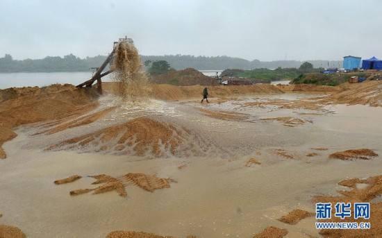 大量需求河沙子可与海德能公司联系15327321341