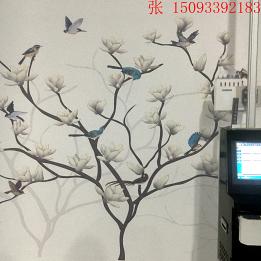 工厂直营背景墙彩绘机 墙体打印机 立式墙体喷绘机小型加工设备