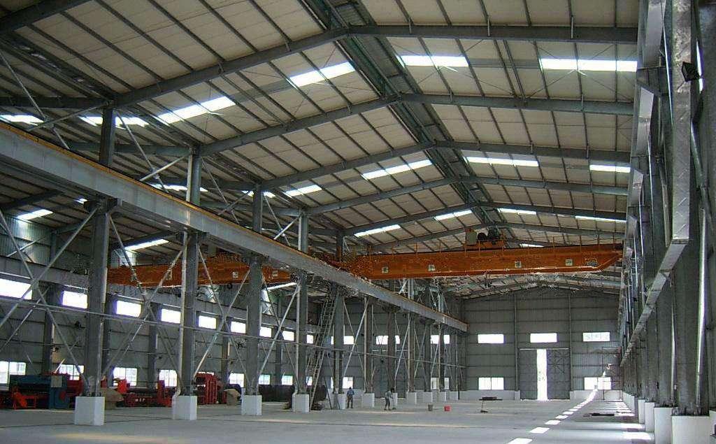 垣曲钢结构厂房|供应太原优良钢结构厂房