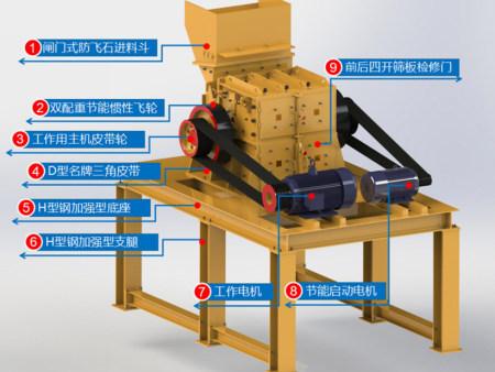 昆明代理制砂机-选购超值的Jn1号双配重一次成型高产量砂机王就选云南中天矿山机械