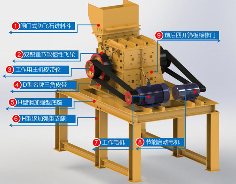 实用的制砂机-云南中天矿山机械Jn1号双配重一次成型高产量砂机王推荐