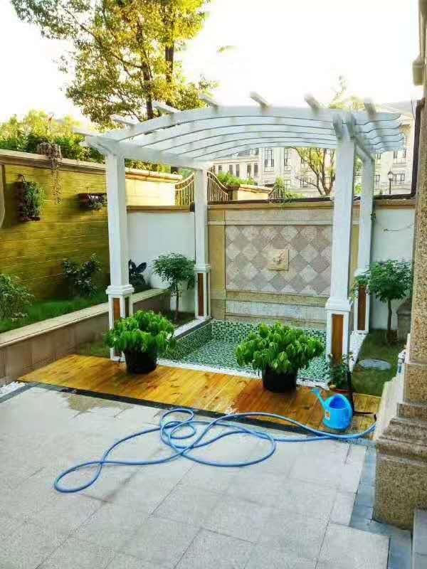 園林綠化認準卓進源花卉,萊西園林綠化設計
