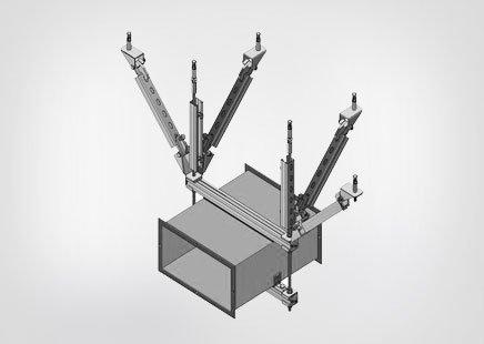 西安抗震支架批发_好用的风管抗震支架金凯龙机电设备供应