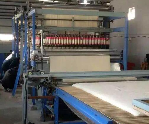 有网棉胎生产流水线