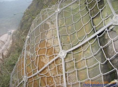 山体落石防护网