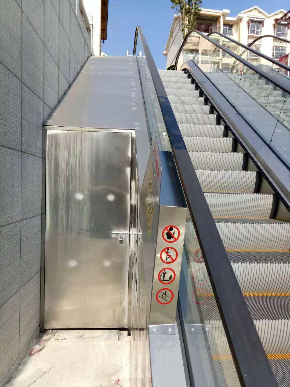 扶梯防攀爬裝置