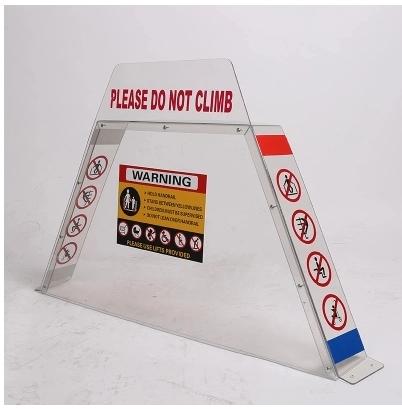 扶梯防攀爬装置价格行情-买价格实惠的扶梯防攀爬装置当然是到昀立防护设备了