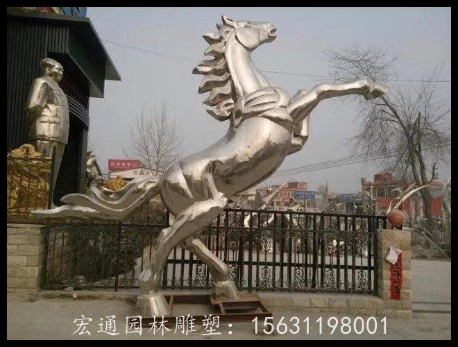 福建專業的不銹鋼飛馬雕塑 創新的動物不銹鋼雕塑當選宏通園林不銹鋼雕塑