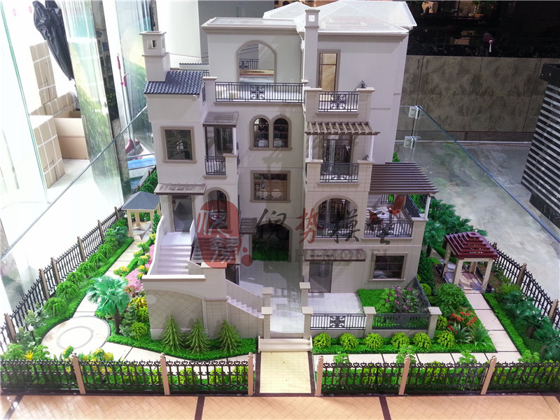 欽州別墅模型製作-南寧建築模型定做價格
