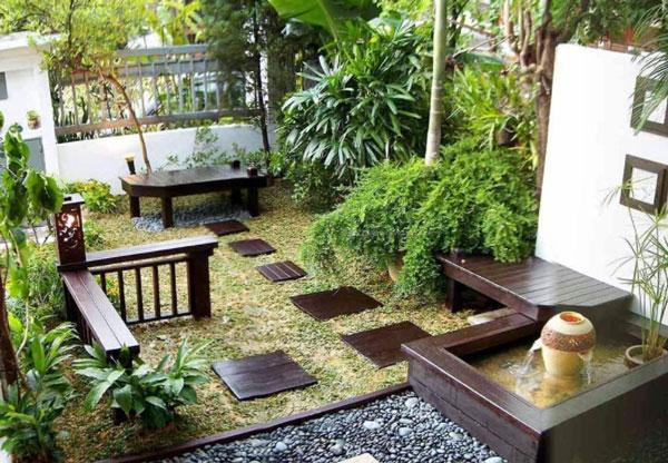 别墅绿化设计||小区绿化工程