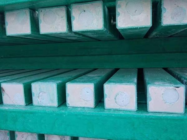玻璃钢刺绳立柱 GRC复合立柱哪里有卖河北精创玻璃钢