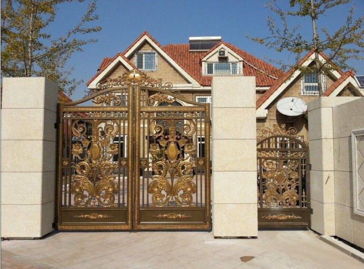 广西庭院铜门供应商_广西声誉好的庭院铜门厂商推荐