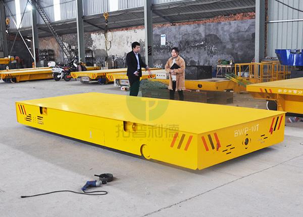 深圳电动平车 电动平板车蓄电池供电无轨BWP系列
