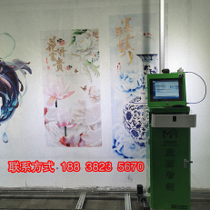 多功能墙体喷绘机个性化3D墙体彩绘机家用一体机创业墙面打印机