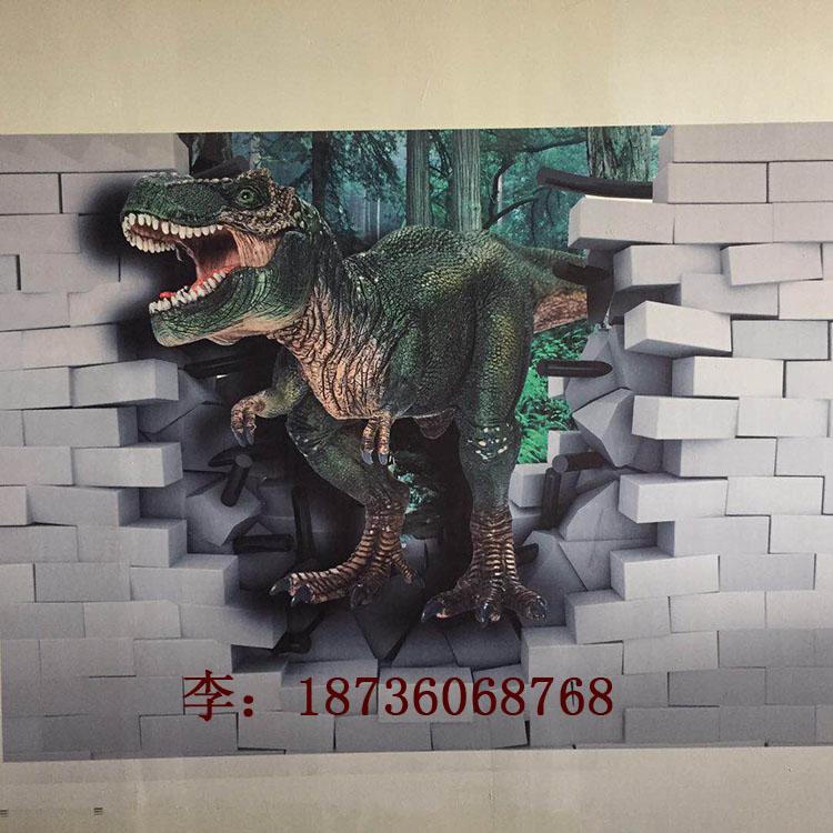 高清智能立式3d墙体喷绘机 街道公益宣传标语彩绘机 郑州厂家