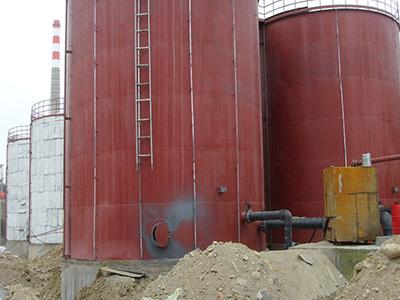 高岭土制备设施防腐
