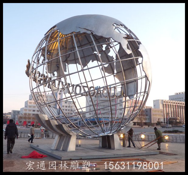 云南供應地球儀不銹鋼雕塑-地球儀不銹鋼雕塑供應商哪家口碑好