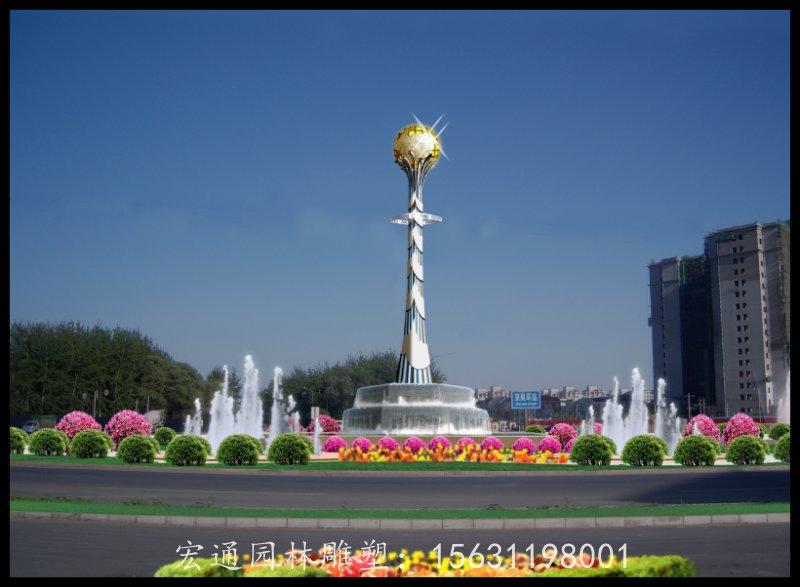 青海專業的城市不銹鋼雕塑-河北超值的地球儀不銹鋼雕塑供應
