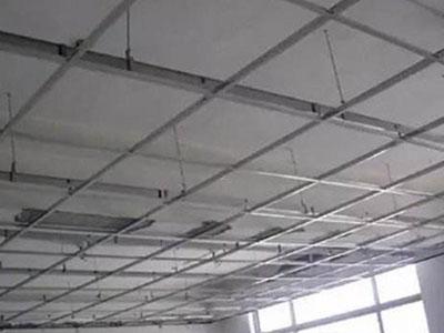 烤漆龙骨矿棉板吊顶
