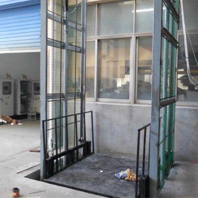 供应广东导轨式升降机液压升降平台厂房货梯