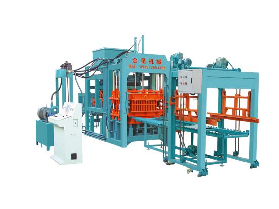南通液压砖机厂家-金星机械液压砖机品质怎么样