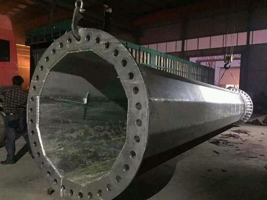知名的钢杆供应厂家当属顺通电力设备 北京10kv电力钢杆