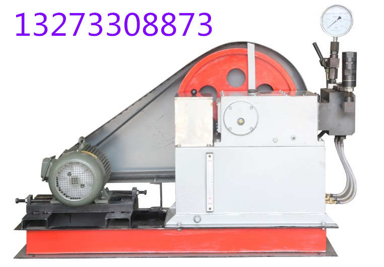 电动试压泵水压试验程序*