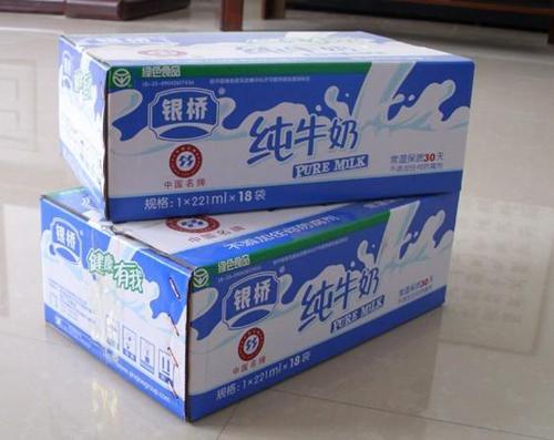 喀什牛奶紙箱設計電話_優良新疆牛奶紙箱生產廠家