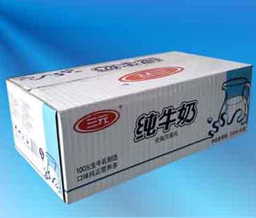 喀什牛奶箱制作 优良新疆牛奶纸箱供应