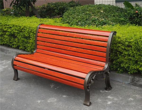 供应深圳振兴【公园椅工厂价】靠背休闲椅厂家塑木椅批发