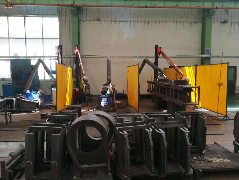 钢结构房屋焊接设备焊接助力臂 任意位置旋转停留焊接助力臂
