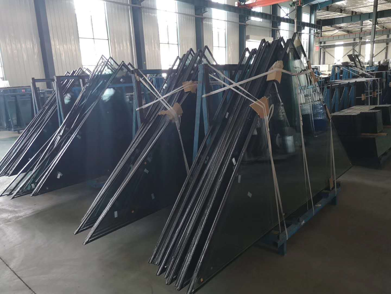 西宁钢化中空玻璃定做|买好的兰州钢化夹层玻璃就来张掖绿阳玻璃