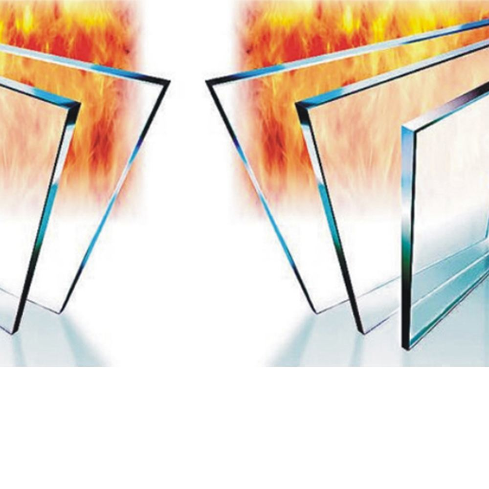 夹层复合防火玻璃
