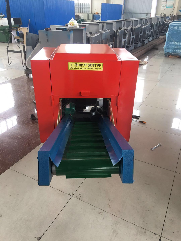 山東青州偉邦機械銷售-稻桿切割機/巖棉切塊機/紡織廢料切碎機