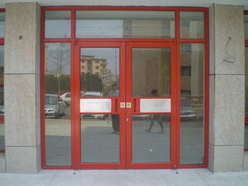 临朐办公室隔断型材安装-潍坊具有口碑的肯德基门铝型材