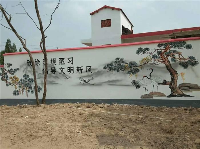 【新农村文化墙】青州市美丽乡村文化墙工作室合作社