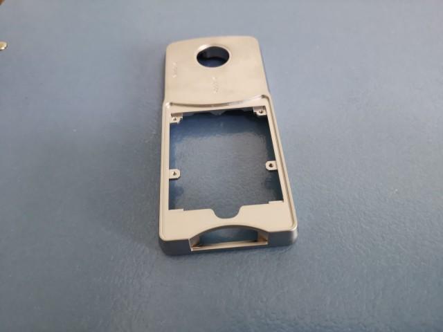 锌合金金属外观件_电镀表面门锁面板_广州柏菲特金属制品