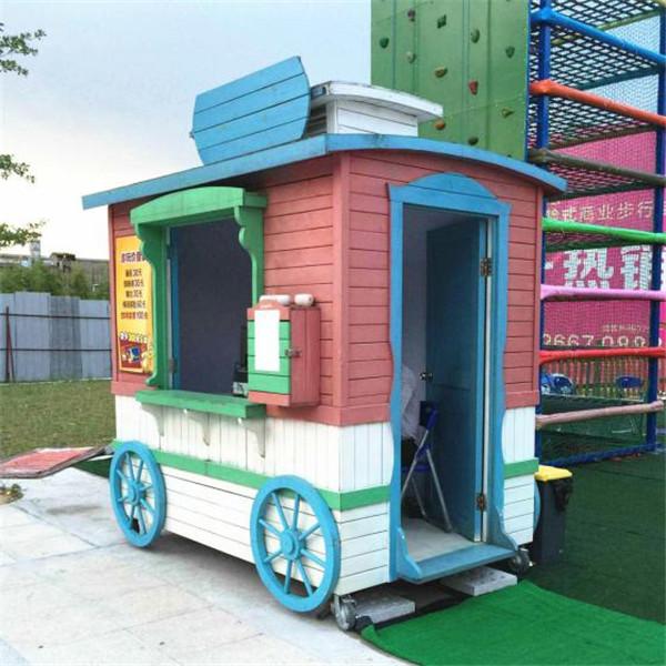 广西南宁爆米花售卖车可移动小吃车艺术玩具售货车定制