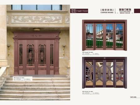 玻璃铜门价格-在哪里能买到口碑好的玻璃铜门
