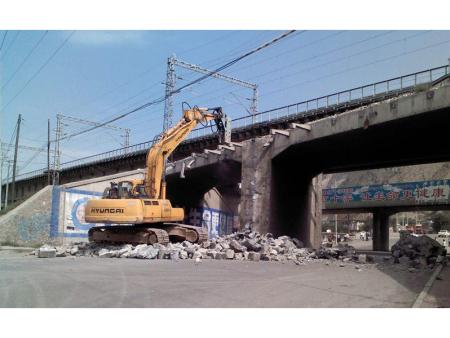 温州烟囱拆除工程-浙江桥梁拆除哪家专业