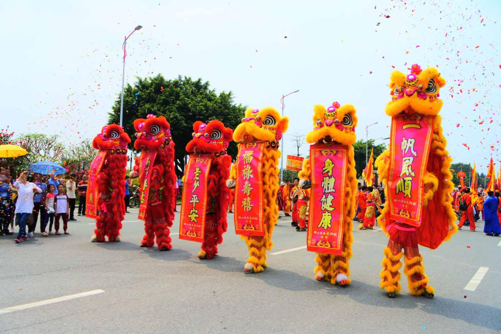 珠海醒狮专业的舞狮表演