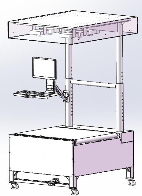 跨境電商倉儲物流稱重掃碼測體積DWS系統
