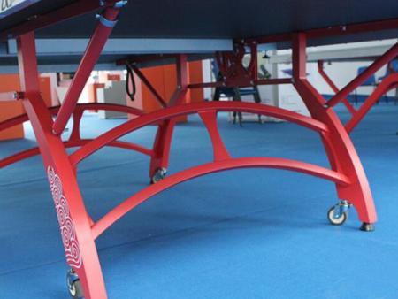 固定式乒乓球台该如何安装?