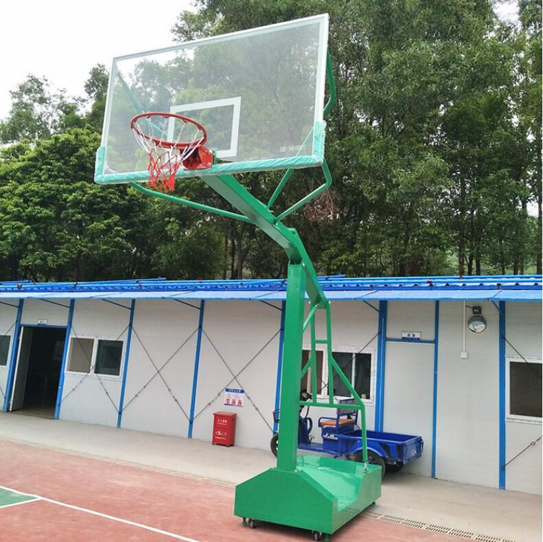 户外篮球架-想买新款移动式球架就来东莞市强利体育器材